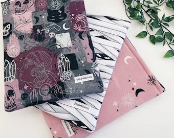 halloween book sleeves with zippers | sleeves | bookish accessories | zipper book sleeves | book sleeves