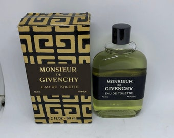 4df80d8e5b Givenchy MONSIEUR VINTAGE pour homme perfume EDT man 60 ml splash hard to  find discontinued for men