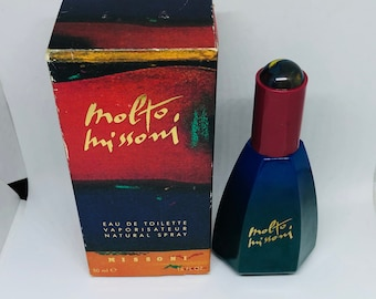 77d69a40b8 Very missoni 50 ml vintage perfume years 90 EDT Spray discontinued hard to  find Donna woman femme