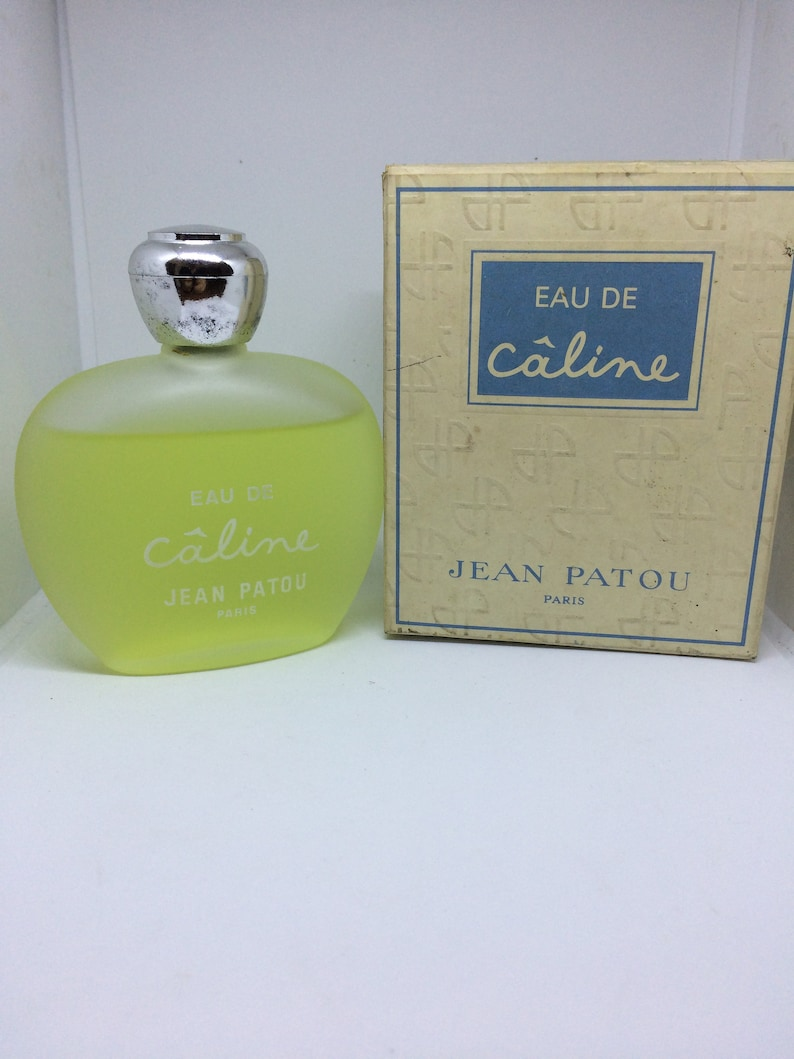 4ad36ea5267f4 JEAN Patou caline Vintage Perfume 120 ml splash like photo with original  box 60s-70s discontinued hard to find