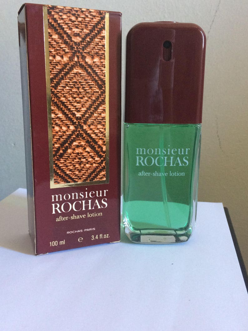 Health & Beauty 100 Ml After Shave Eau De Rochas Pour Homme Men's Fragrances vintage