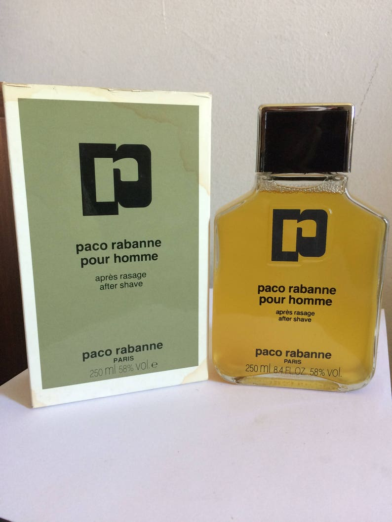 0714ed210e PACO Rabanne CLASSIC pour homme after shave vintage 250 ml | Etsy