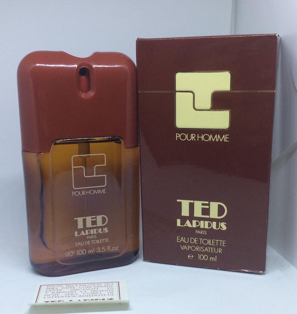Toilette Homme Vaporisateuretsy Eau Ted Iyewedh92 Pour 100 De Lapidus Ml L5R4Aj