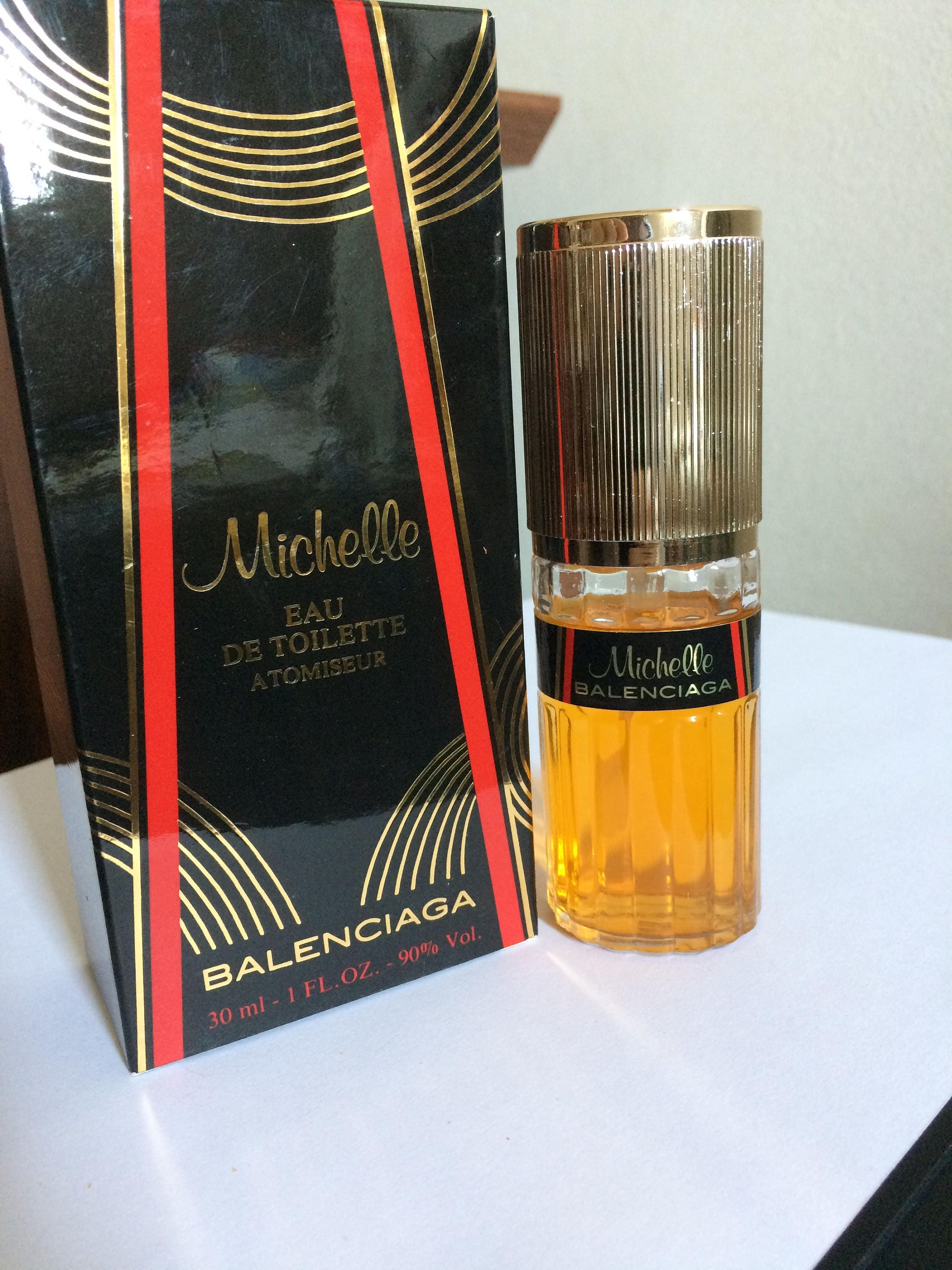 Balenciaga Edt Michelle Discontinued Ml Rare Out Gas Production Spray Woman Perfume 30 Vintage With RjL5Aq34