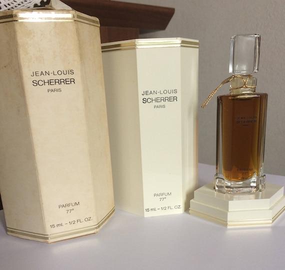 JEAN LOUIS scherrer 1 parfum l'extrait 15 ml scent vintage woman perfume extract very rare double box discontinued