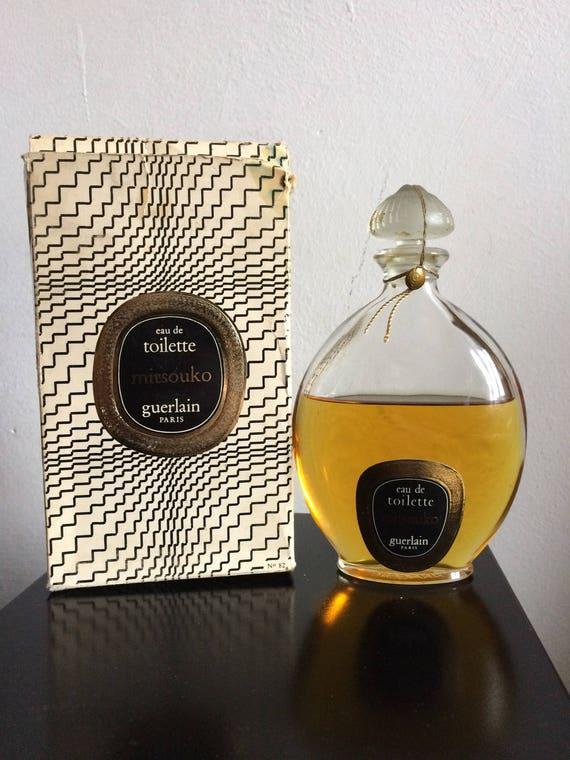 Discontinued Profumo Xl Vintage 200 Di Rare Lalique Splash Edt 1975 Bottle Very Goutte Guerlain Stopper Ml 250 Mitsouko 1967 OPkiTZXu