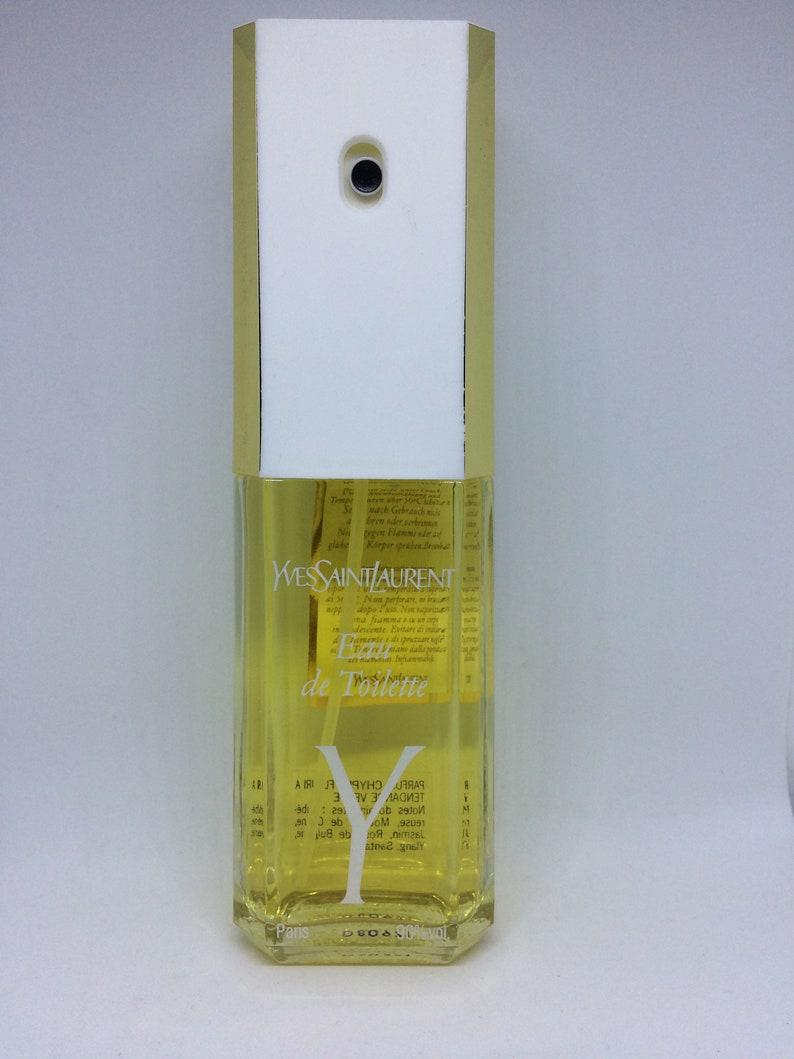 9efdb059281 YSL Y Yves Saint Laurent Vintage perfume Women eau de toilette   Etsy