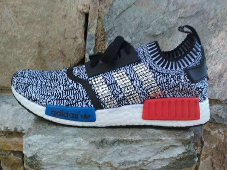 389c47f9d Last pair womens us size 8 or mens 7 blinged adidas nmd casual