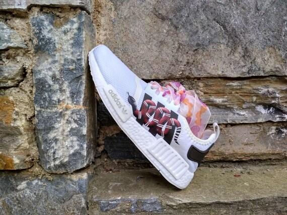 1e41f540de46 ... custom mens snake on nmd logo casual shoes with adidas shoes the floral adidas  custom run ...