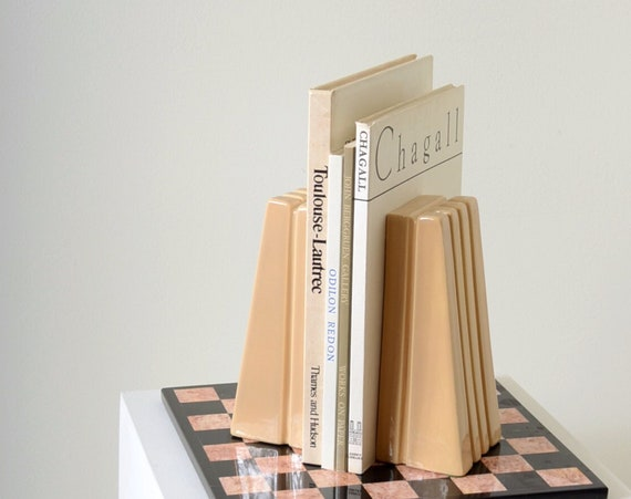 """Ceramic Bookends / 9"""" height"""
