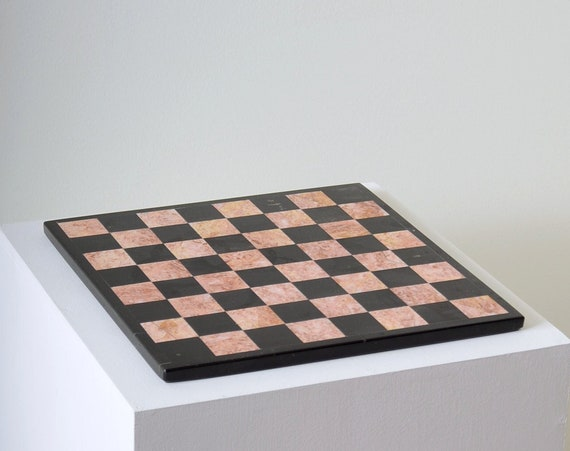 """Marble Chess Board / 13"""" x 13"""""""