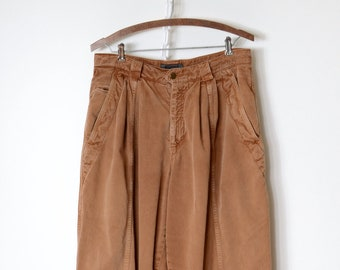 Clay Cotton Trousers