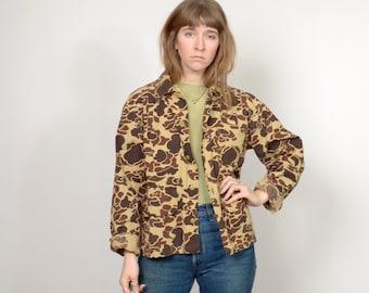 1970s Vintage Camo Field Jacket / medium - large