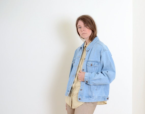 90s Bill Blass Denim Jacket
