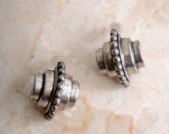 Art Deco Post Earrings