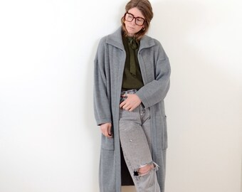 Ribbed Knit Sweater Duster