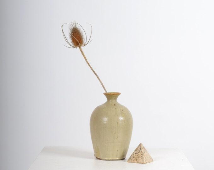 "Featured listing image: Ceramic Bud Vase / 7"" height"