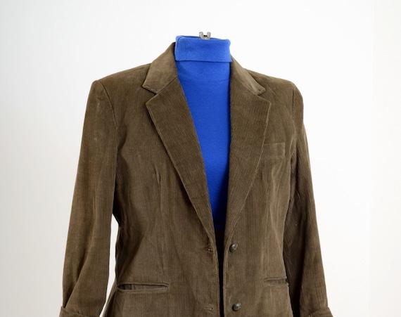 70s Corduroy Blazer Jacket