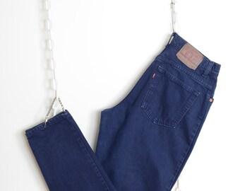 "Levi's 551 Navy Jeans / 32"" waist"