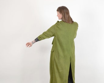 1980s Avocado Duster / by Fixsun Casual / one size fits most