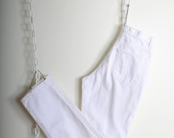 "White Cotton GAP Jeans / 27"" - 28"" waist"