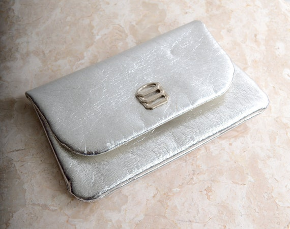 60s Silver Pouch