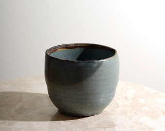 Blue Ceramic Catchall Vessel
