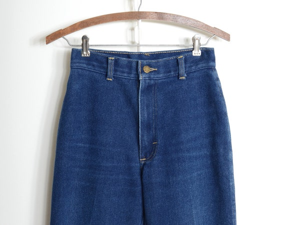 "Cascade Blues Stretch Jeans / 25"" - 27"" waist"