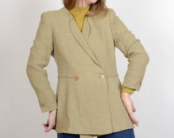90s Vintage Designer Double Breasted Blazer / by Giorgio Armani / medium - large