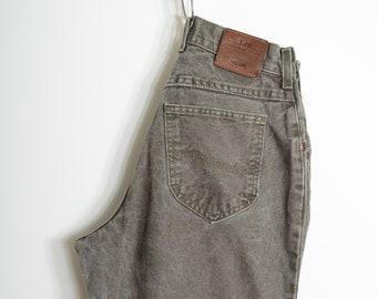 """Dusty Green Lee Jeans / 27"""" - 28"""" waist"""