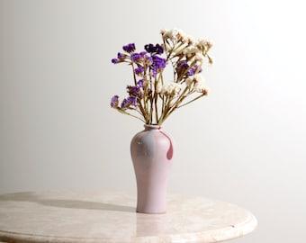 Lavender Ceramic Bud Vase