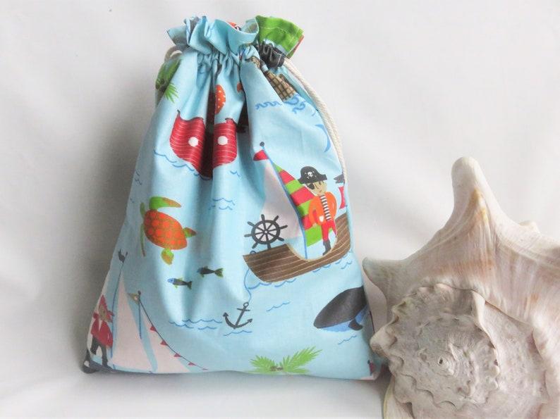 tissu enduit \u00e9tanche int\u00e9rieur et ext\u00e9rieur 32 x 25 cm les pirates bleu sac de piscine doubl\u00e9 sac de plage
