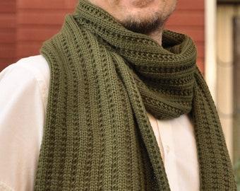 High Quality Tasseled Scarf Big Long Luxury Knitted Wool Men Scarf 70 x 200 cm