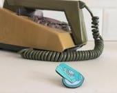 Vintage Pin Club - Snowdon Trimphone Enamel Pin Badge