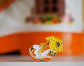 Vintage Pin Club - 1990s boot house Toy Enamel Pin Badge