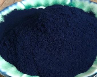 Indigo - Indigofera Tinctoria - Natural Indigo Powder from Living Blue - sold by the ounce