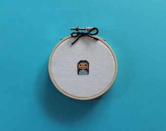 Tiny AOC | A cross stitch pattern PDF (instant download)