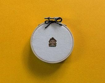 Tiny Beyoncé | A cross stitch pattern PDF (instant download)