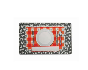Personalized Dinner Plate Pet Mats for Sublimation