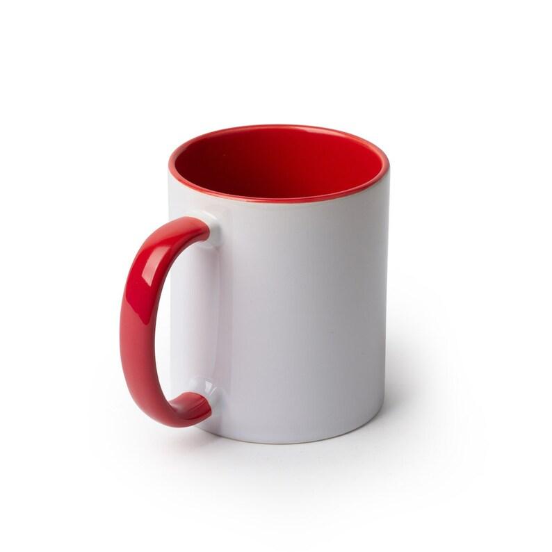 11oz Inner Color Mug-Red for Sublimation