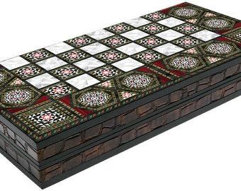 Backgammon set | Etsy