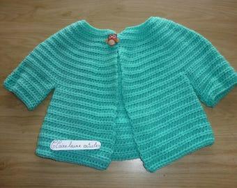 child wool vest