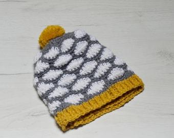 Patrón gorro de ganchillo. Gorro de nubes. Patrón gorro crochet. Incluye  patrón bolso nubes de regalo. 9583b9f32bc
