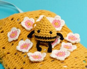Patrón amigurumi abeja - patrón ganchillo amigurumi abeja - Patrón amigurumi animales