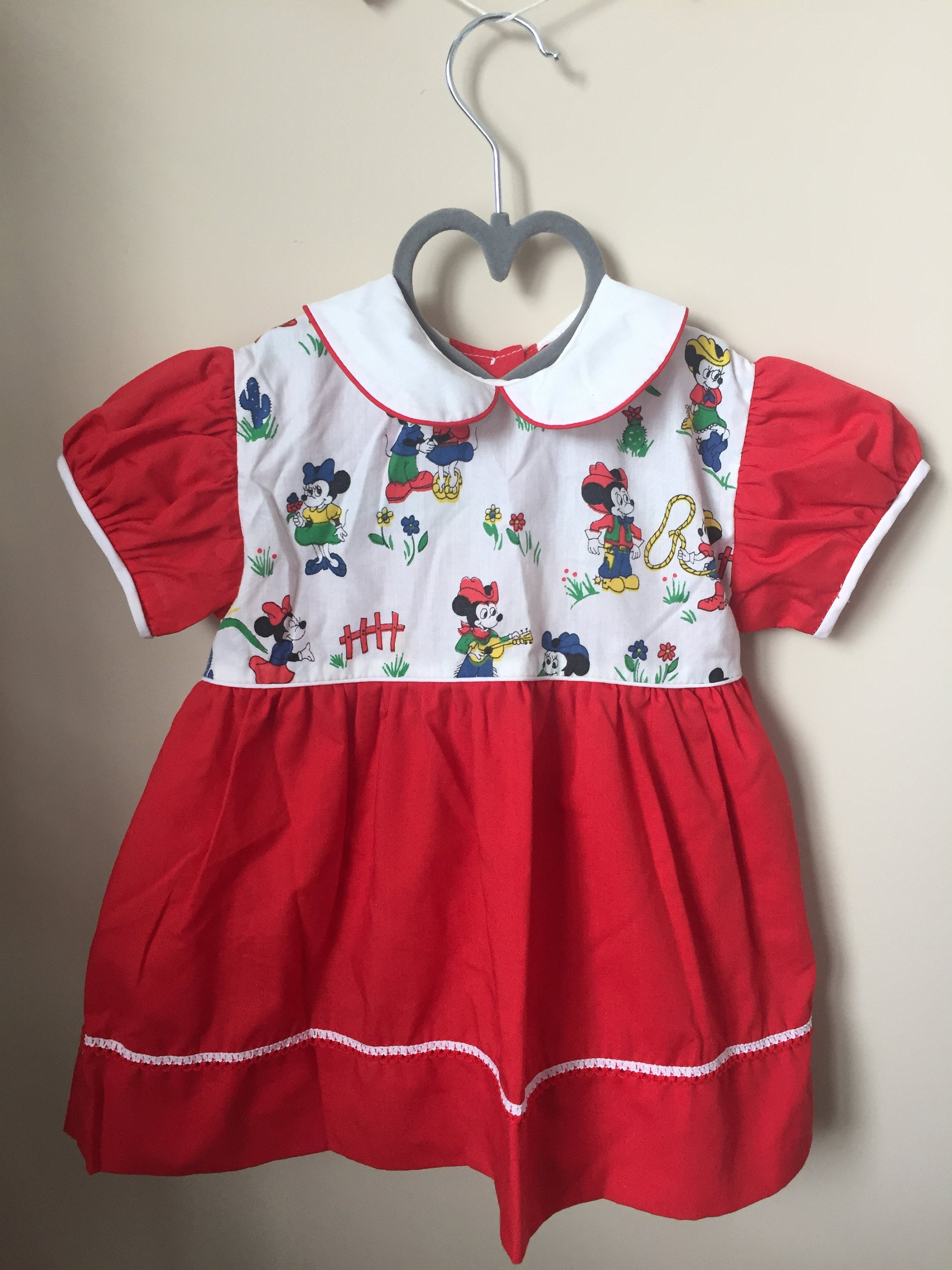 8d2b05aa2 Cutest Ever Vintage Mickey Minnie Mouse Dress for Baby   Etsy