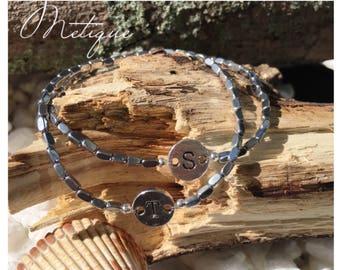 Dainty distance bracelet, his her bracelets, dainty bracelets, matching bracelets, couples jewelry, matching couples, minimalist bracelets