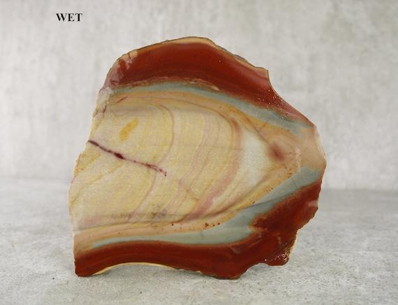 Awesome Natural Quality Mookaite Jasper Slab Speciman Jasper Rough Gemstone