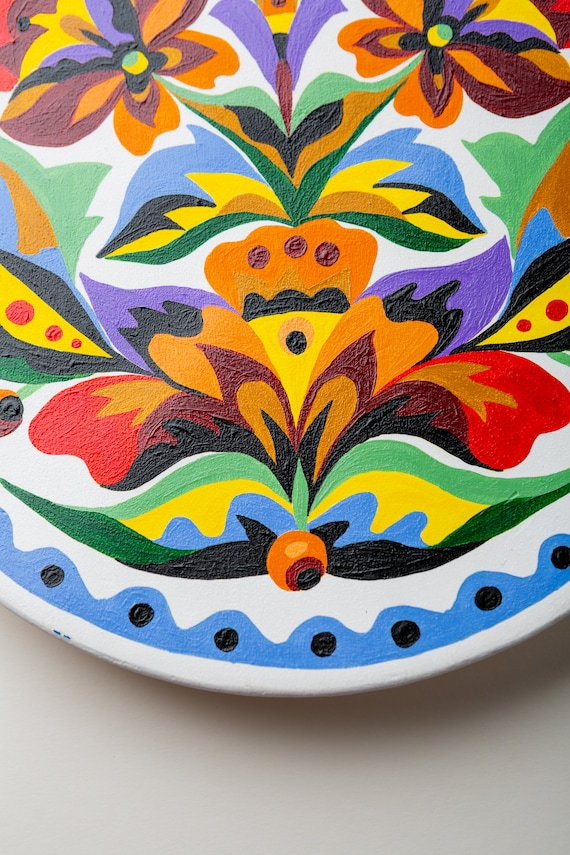 Hand Painted By Ukranian Art