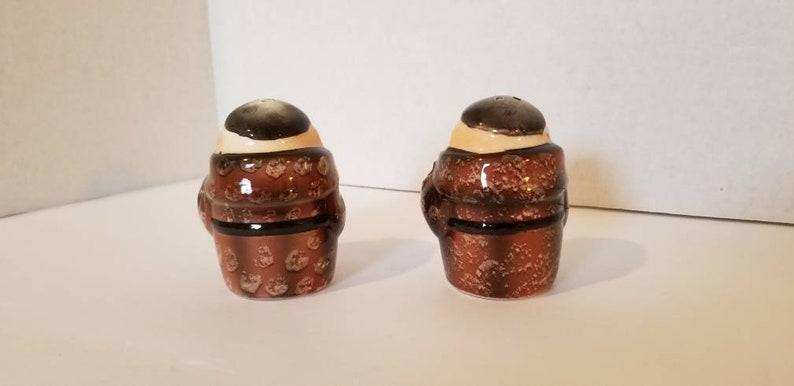 Merry Monks Made in Japan Vintage Friar Tuck Monk Salt /& Pepper Shaker Set Ceramic Shakers Whimsical Salt Pepper Shakers