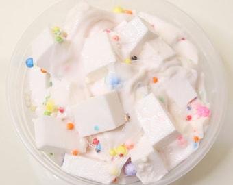 Confetti Chunks Jelly Cube Slime - Floam Slime - Fluffy Slime